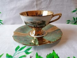 Tegernsee porcelán kávés csésze + Kaiser alj