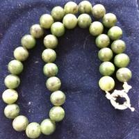 Zöld jade gyöngysor