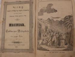 Machsor- Praag 1847. Ünnepek Rendje egész évre.