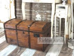 Antik bútor, régi utazó láda 12.