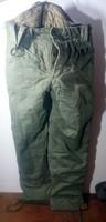 Régi magyar katonai nadrág,raktárból,kiadatlan,hordatlan