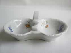Zsolnay porcelán asztali sótartó