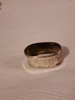 Ezüst szalvéta gyűrű
