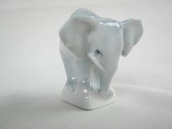 Zsolnay porcelán elefánt