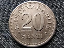 Észtország 20 sent 1935 (id38893)