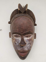 Afrikai antik maszk Ogoni népcsoport Nigéria  zk11