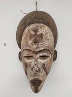 Antik afrikai Afrika Chokwe népcsoport maszk Angola zk20