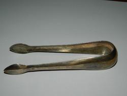Antik ezüst cukor csipesz