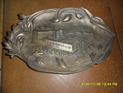 Julius Pintsch Wien antik bécsi szecessziós bronz tál