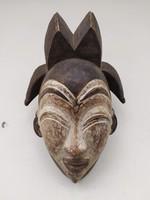 Afrikai antik maszk Punu népcsoport Gabon zk18