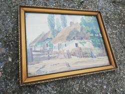 Dáné Gyula - Akvarell 1921