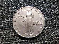Vatikán XII. Pius Prudentia 10 líra 1952 (id22496)