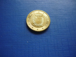 MÁLTA 10 EURO CENT 2008! RITKA!