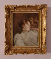 Perlmutter Izsák- Olvasó nő