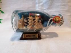 Hajós türelemüveg 12 cm
