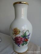 Hollóházi váza, 30 cm magas