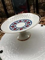 Német porcelán talpas asztalközép kínáló