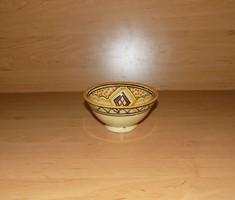 Jelzett kerámia falitányér tál átmérő 12 cm (3p)