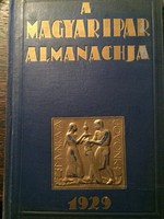 A Magyar Ipar Almanachja  1929