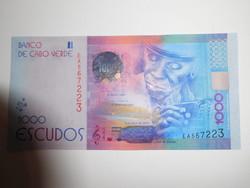 Zöld foki szigetek 1000 escudos 2014 UNC