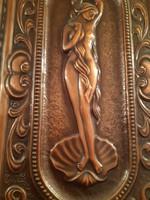 Gyönyörű ,szecessziós nőalakos falikép