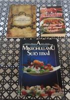 Szakácskönyvek - Ragyogó szakácskönyv / Sárvári szakácskönyv / Mikrohullámú sütő titkai