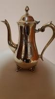 Antik, csodás, kb.100 éves vésett kávé kiöntő,  ajándéknak kiváló