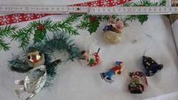 Karácsonyi dísz kollekció 3 : 6 db _  karácsonyfadísz gyűjteményből
