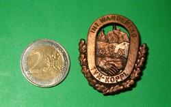 Int wandertag tvn koppl alpesi túra jelvény kitüző szép darab 1 forintról KIÁRUSÍTÁS