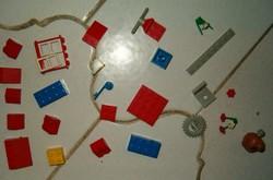 30 darab LEGO duplo retró játék 1987 ből trafik áru gyerek építős összerakó KIÁRUSÍTÁS 1 forintról
