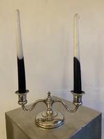 Art Deco Amerikai Sterling Ezüst Gyertyatartó