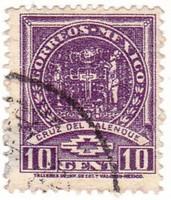 Mexikó forgalmi bélyeg 1937