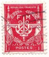 Franciaország katonai posta 1946