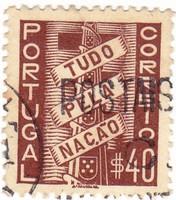 Portugália forgalmi bélyeg 1935