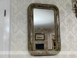 Antik Biedermeier Vintage Tükör 75x50cm