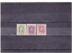 Spanyolország forgalmi bélyeg 1922-1926