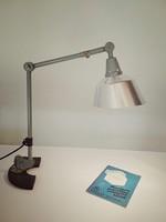 Curt Fischer asztali lámpa / industrial  / loft