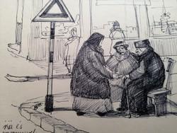 Szőnyi Jenő karikatúra