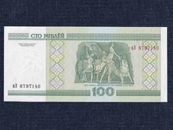 Fehéroroszország UNC 100 Rubel bankjegy 2000 (id8639)