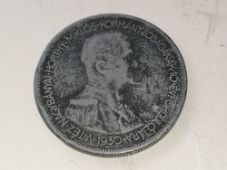 Horthy Hamis 5 pengő 1930.