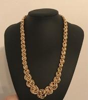 14 karátos arany nyaklánc(collier).