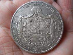 Ezüst Porosz 2-Tallér 1845 A