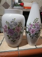Zsolnay váza pár azonos mintával