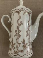 Porcelán tea kiöntő