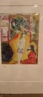 Chagall-Arabische Nächte litográfia
