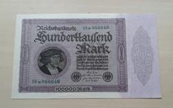 Németország 100000 Márka 1923 Unc.