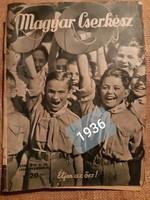 Magyar Cserkész 1936 november