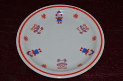 Zsolnay gyerek tányér ( 15,7 cm )  ( DBZ 00123 )