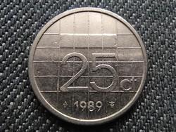Hollandia Beatrix (1980-2013) 25 Cent 1989 (id30981)