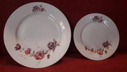 Porcelán lapos és desszertes tányér